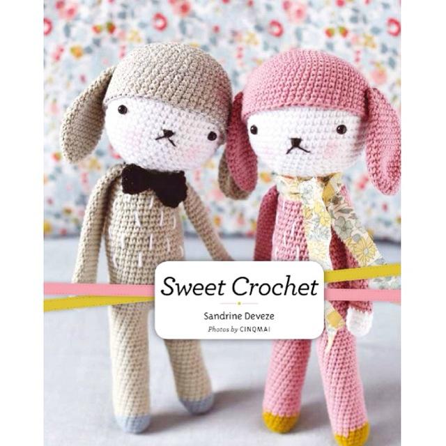 Portada del libro Sweet Crochet de Sandrine Deveze