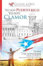 CLAMOR A DIOS: LUNES, 7 DE SEPTIEMBRE DE 2015, AL FRENTE DEL CAPITOLIO, SAN JUAN, PR