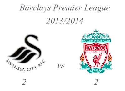 Swansea City v Liverpool Barclays Premier League 20132014