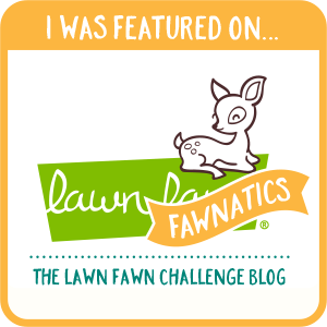 Featured Lawn Fawnatics card entries.