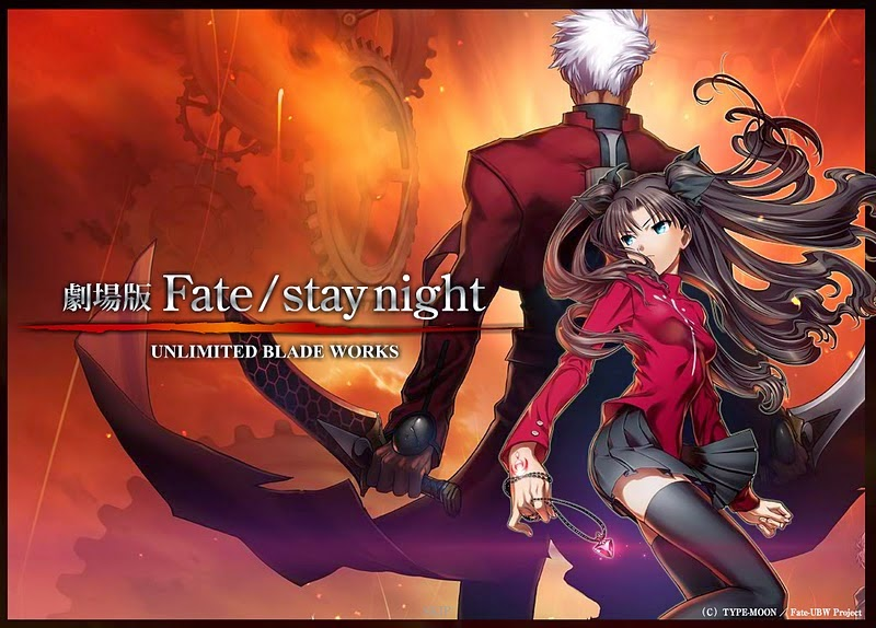 Fate/stay night - Unlimited Blade Works (2014-) ταινιες online seires xrysoi greek subs