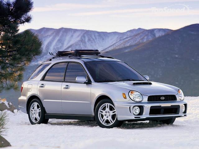 2001 Subaru Impreza Manual