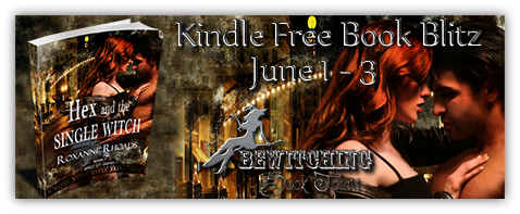 Kindle Free Book Blitz: Hex and the Single Witch by Roxanne Rhoads