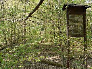Bild 7: Sogenanntes Fürstengrab mit Infotafeln