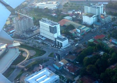 Aerial view of Seda Abreeza Davao Hotel
