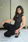 Alekya Photos in Black at Aa Aiduguru Press meet-thumbnail-11