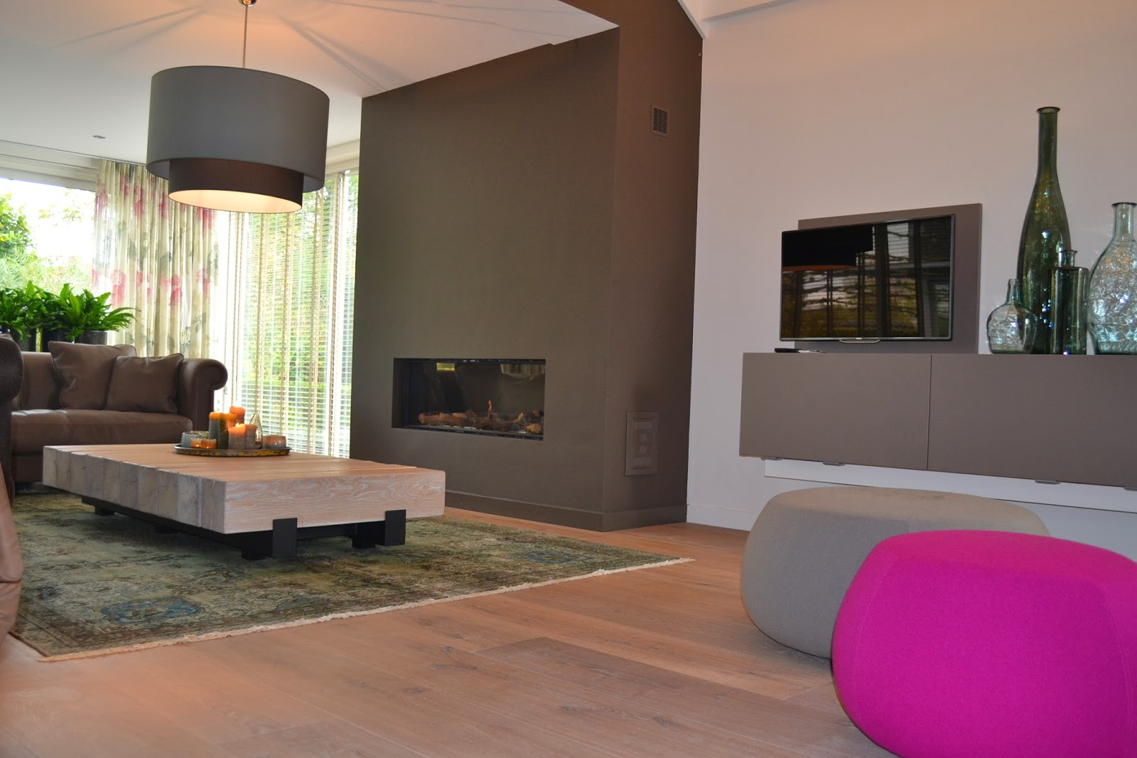 By interieur advies styling recente projecten nieuwe for Interieur woonkamer