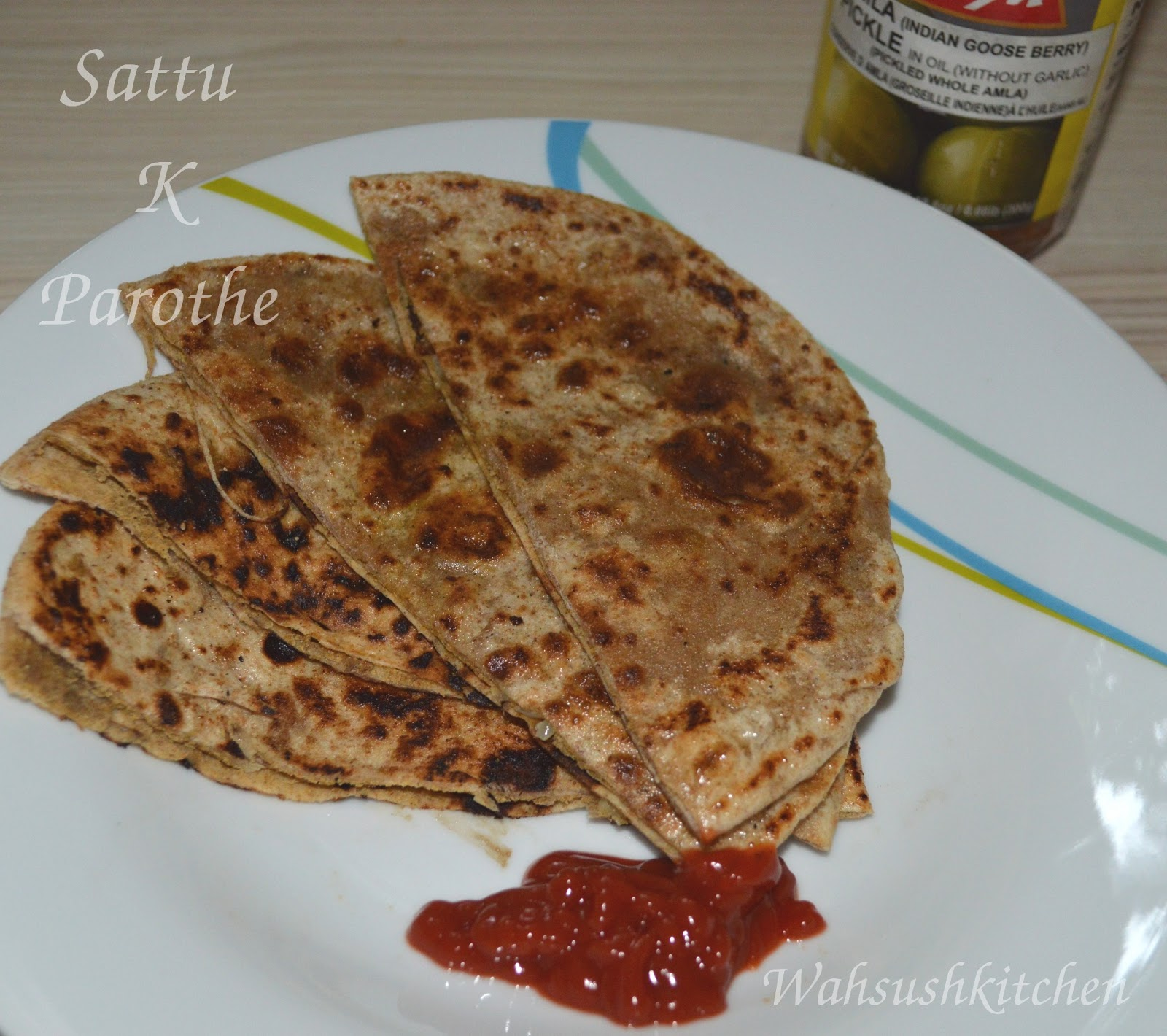 Spiced Lentil Stuffed Flat Bread (Ajwain Dal Paratha ...