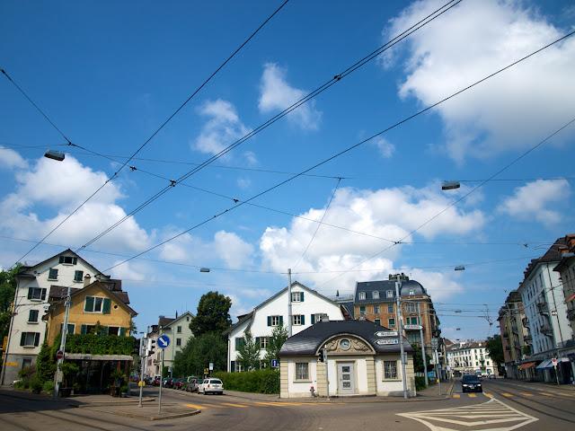 Calles del centro de Zurich