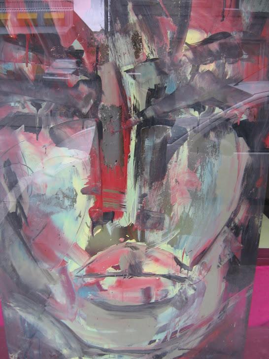 peinture sur vitre (vendu)