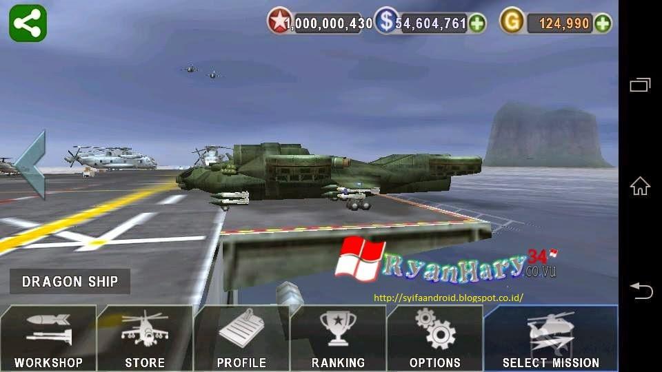 Скачать мод игры gunship battle