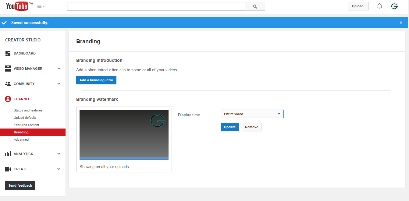 Subscribe Button Set Time in YouTube - Geeky Juan