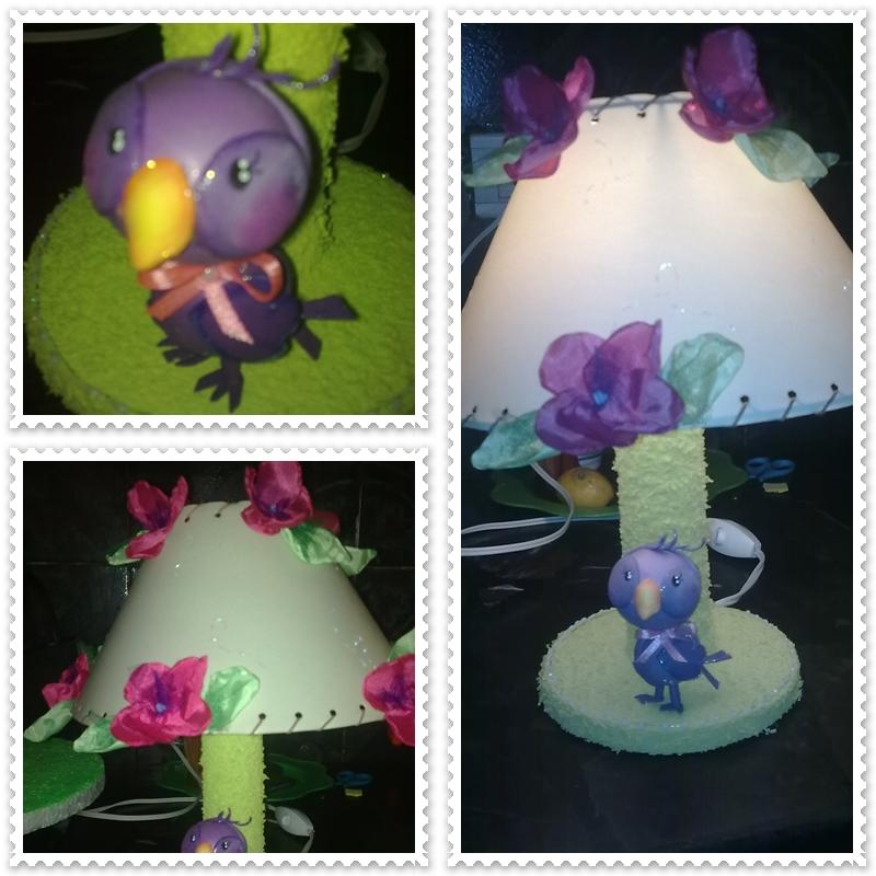 Como hacer lamparas de foami - Imagui