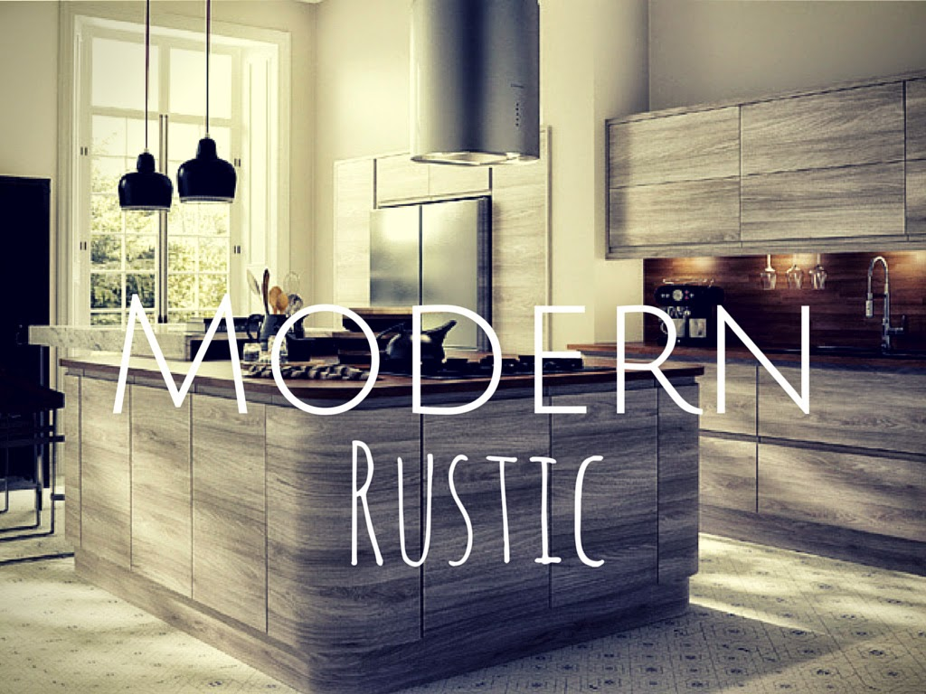 Modern Rustic Kitchen Modern Home And House Design Ideas