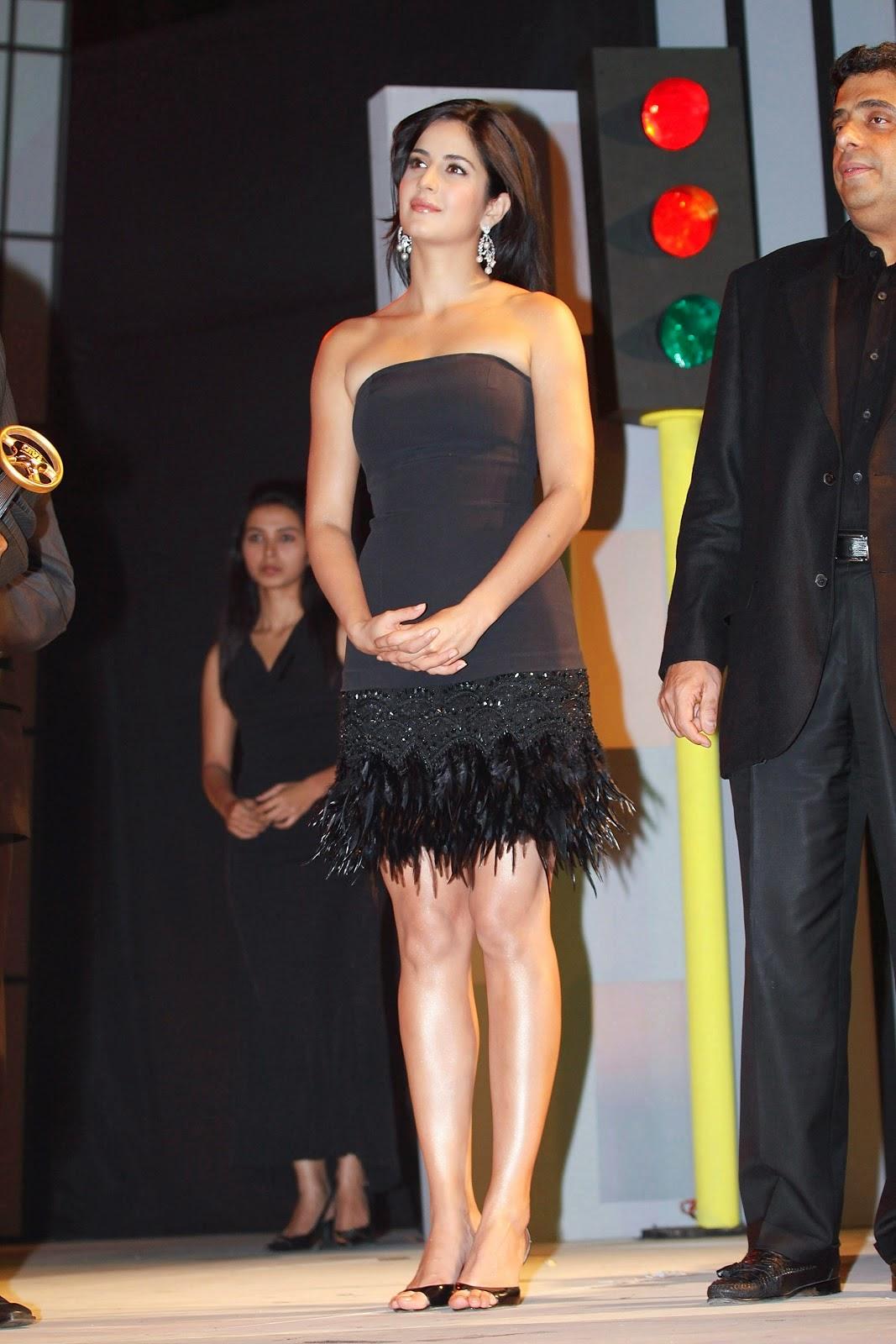 Katrina Kaif black short dress hd