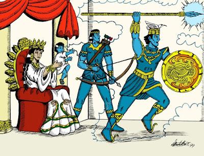 Representación del Señor Huitzilopchtli-Mexi