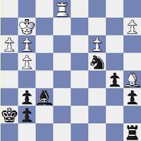 Partida de ajedrez Bussers-Cifuentes, Torneo Internacional Femenino de Barcelona 1949