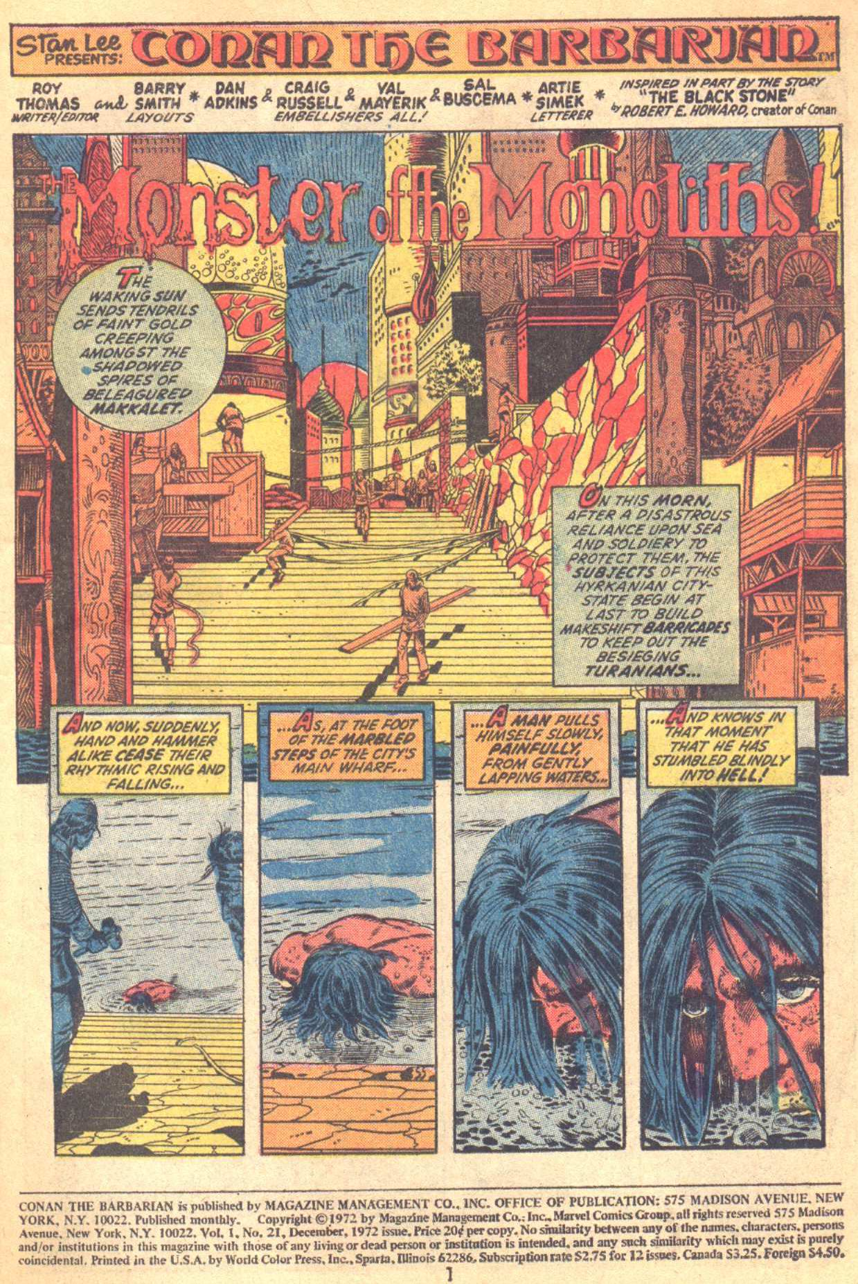 Conan the Barbarian (1970) Issue #21 #33 - English 2