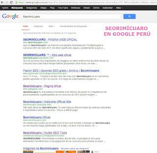 serimicuaro en google perú estamos en puesto 12 http://retoforobeta2013.blogspot.com/