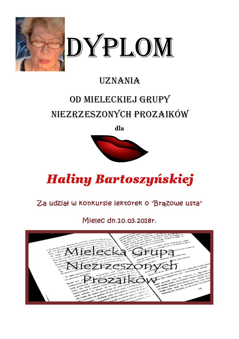 Halina Bartoszyńska