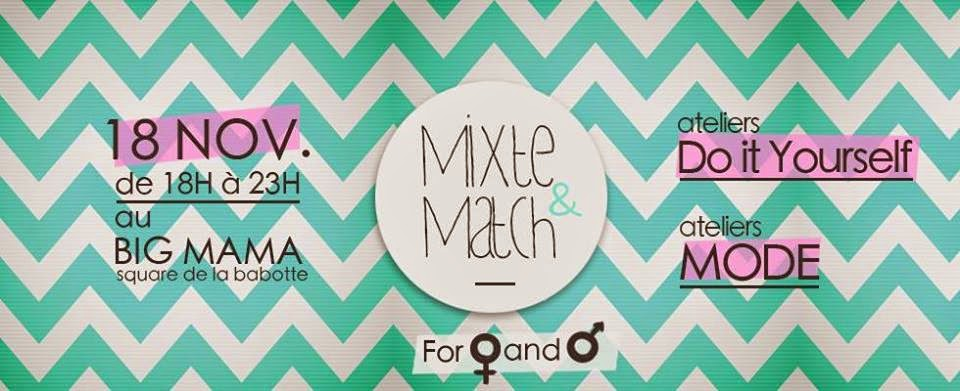 Mixte & Match au Big Mama Burger le 18 novembre 2014