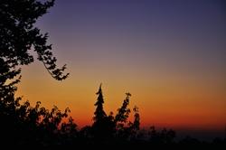 Milder Abendhimmel...