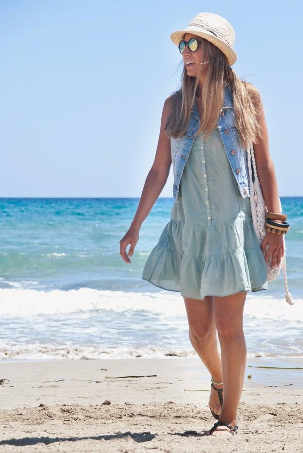 Vestido para la playa