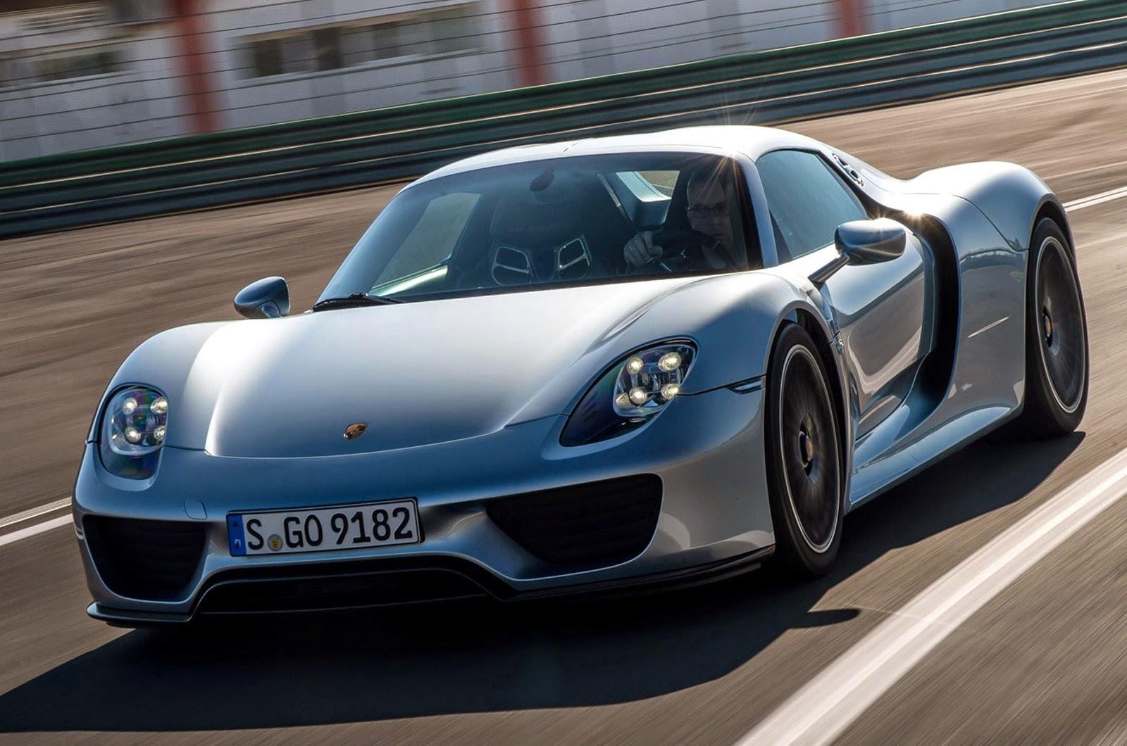 La Nouvelle Porsche 918 Spyder 2015