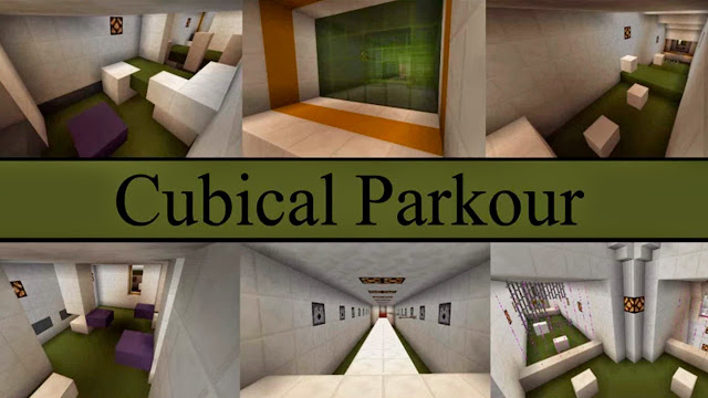Cubical Parkour Map 1.8