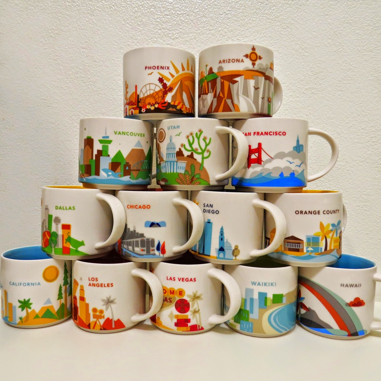 starbucks you are here collection mugs on ebay it has grown on me. Black Bedroom Furniture Sets. Home Design Ideas