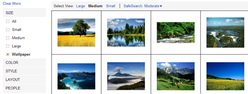 cari desktop background dengan bing
