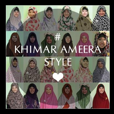 Khimar Ameera Style