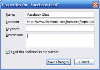 Menempatkan Facebook di Sidebar