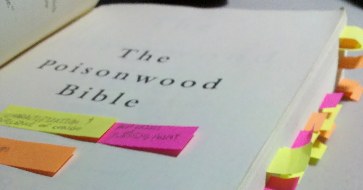 poisonwood bible essay ruth may The poisonwood bible character analysis-characters cliff notes™, cliffs notes™, cliffnotes™, cliffsnotes™ are trademarked properties of the john wiley publishing company ruth may ruth may is the baby of the family.