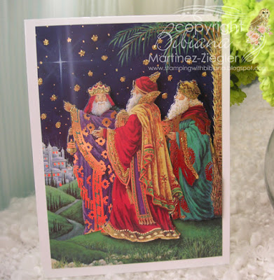 ephiphany 3 kings card front