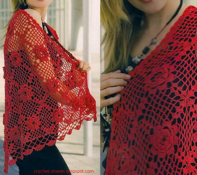 Crochet Shawls: Free Crochet Shawl Pattern - with Crochet ...