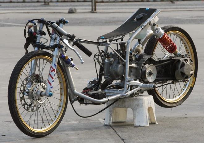 Gambar Motor Yamaha Mio Modif Drag Race | R-way Collection