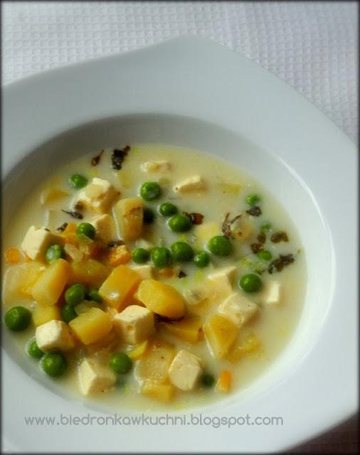 zupa z fetą, zupa ziemniaczana