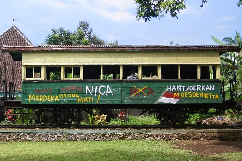 Peristiwa Sejarah Museum Dan Monumen Palagan Ambarawa - Gerbong Kereta Api
