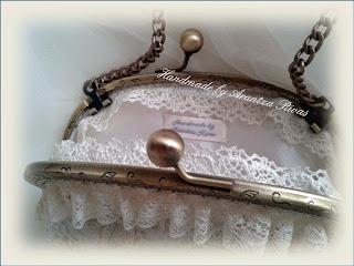 Bolso vintage para novia