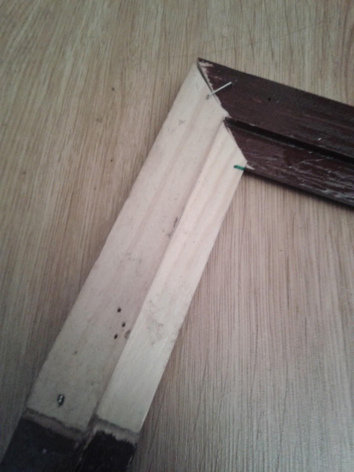 Lascosasdepat como hacer tu mismo un marco para puzzle en - Leroy merlin marcos 30x40 ...