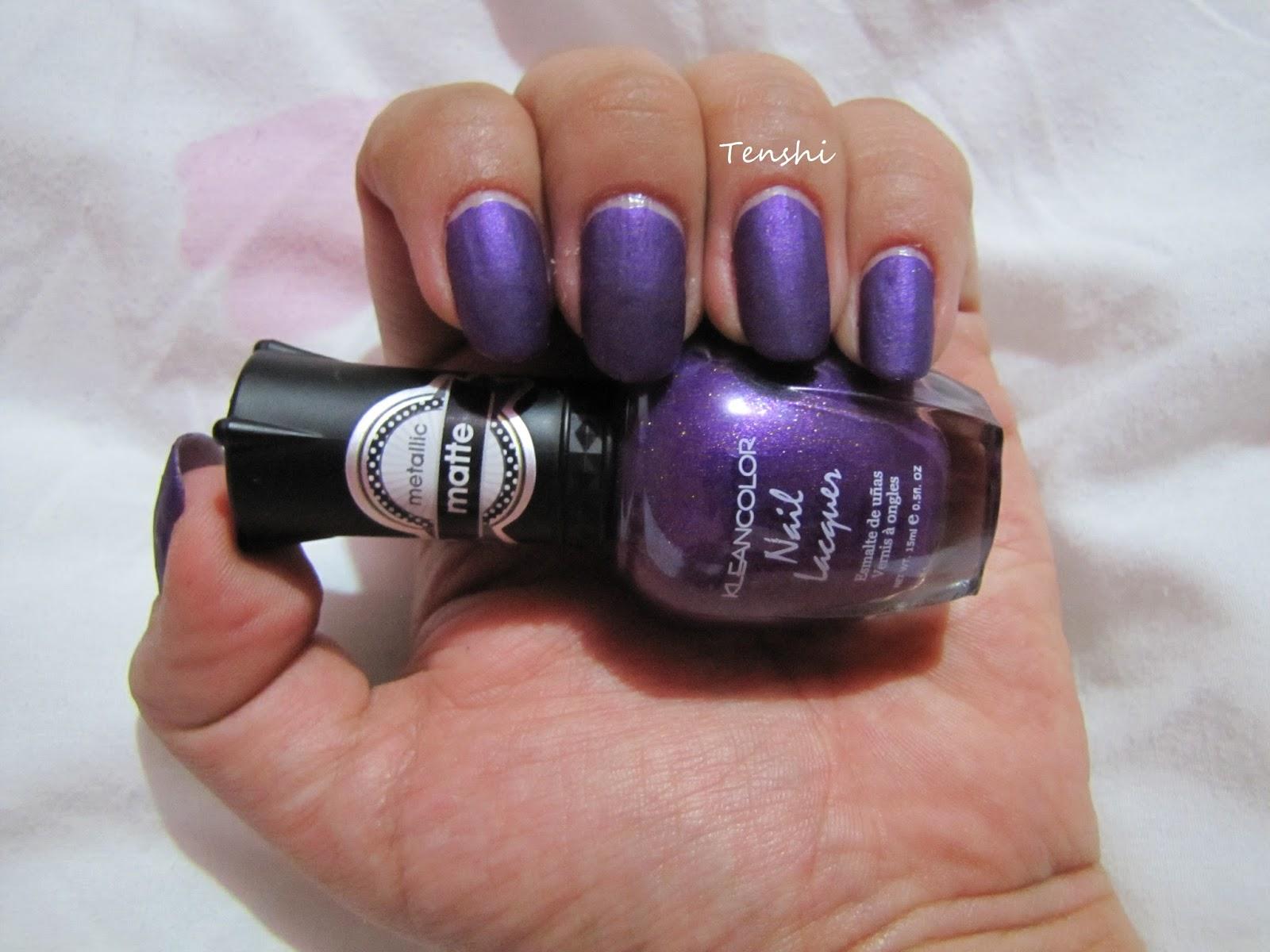 Nails by Tenshi: 31 días de uñas: Día 8, uñas metálicas