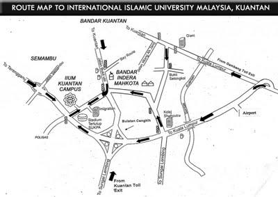 International Islamic University Map Downloads International