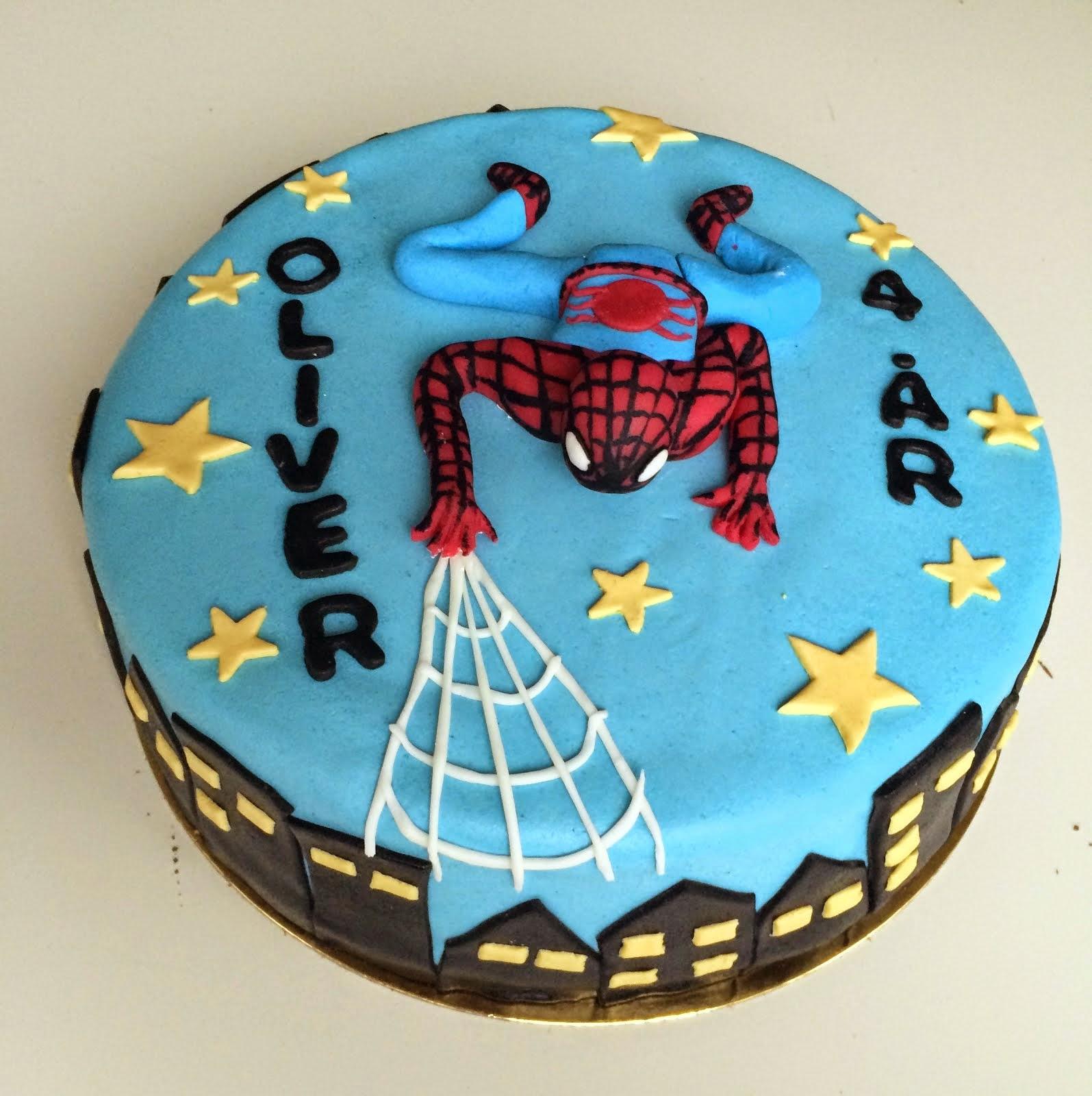 Spidermantårta