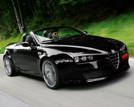 alfa romeo views alfa romeo reviews perfect black alfa romeo spider. Black Bedroom Furniture Sets. Home Design Ideas