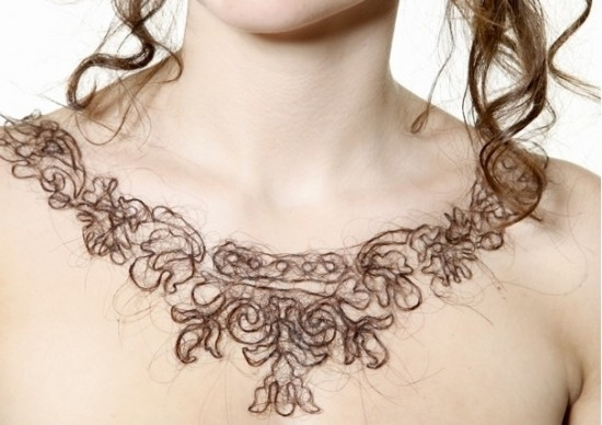 Necklaces Made By Human Hair