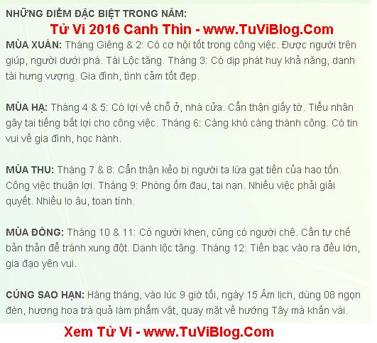 Tu Vi 2016 Canh Thin 2000