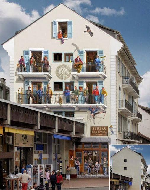 Design 3D Bangunan yang Keren dan Kreatif