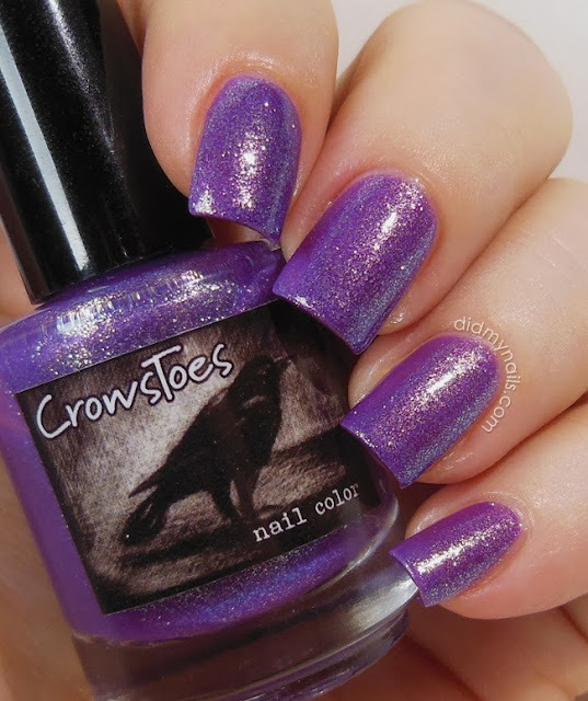 CrowsToes L'il Miss Sunshine swatch