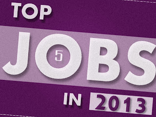 5 Most Growing and High Demand Jobs In 2013 [infographic]